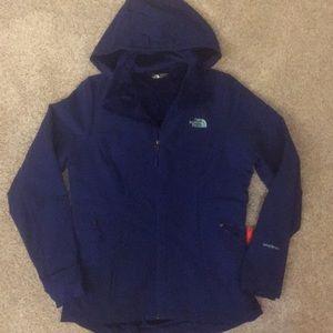 New The North Face windwall dark blue jacket